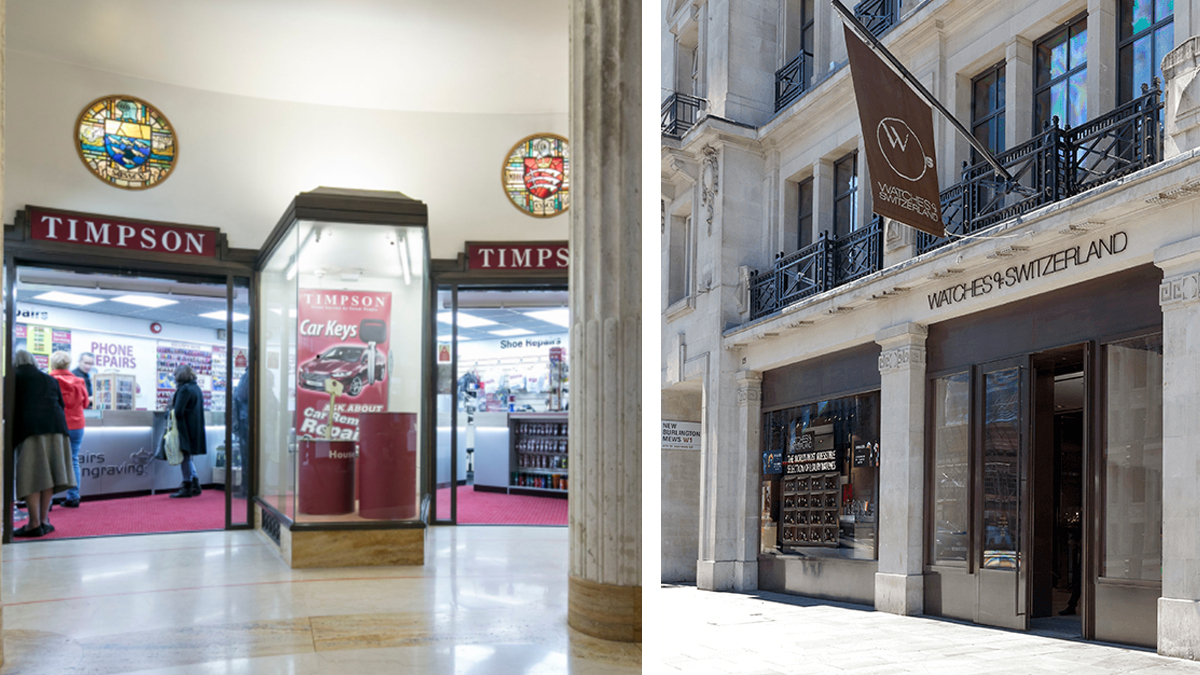 Timpson and Watches of Switzerland have both instructed TFT dilapidations specialists